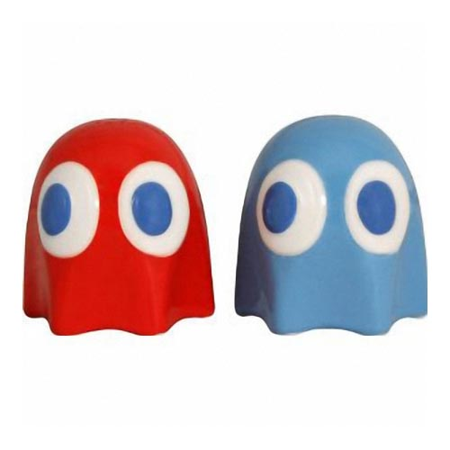 Pacman Ghost Salt and Pepper Shakers