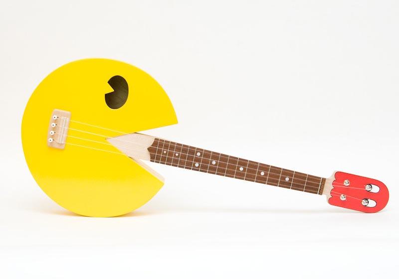Pacman Styled Ukulele Gadgetsin