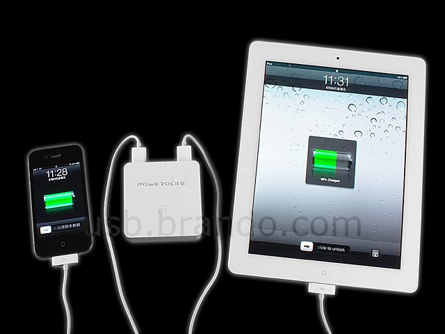 Powerocks Stone 3 Backup Battery and Chager