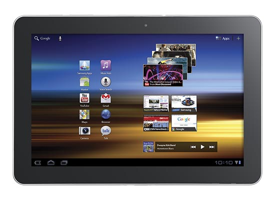 Samsung Galaxy Tab 10.1 Android Tablet Available for Preorder