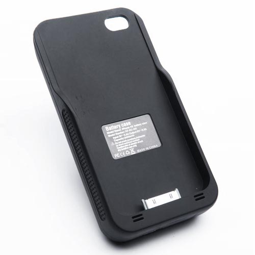 Sol Solar iPhone 4 Battery Case with Solar Panel