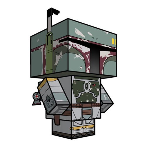 Star Wars Boba Fett Cubee Craft