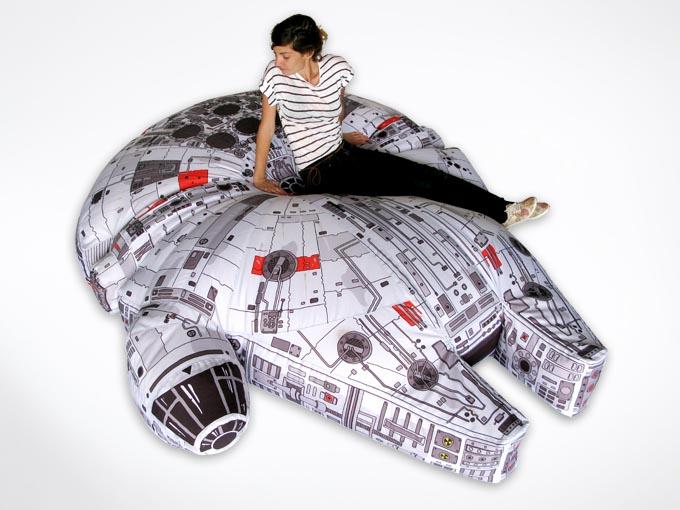Star Wars Millennium Falcon Bean Bag Gadgetsin