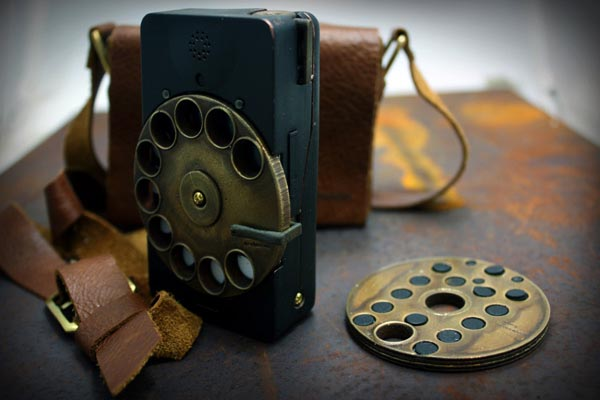 Steampunk Smart Phone