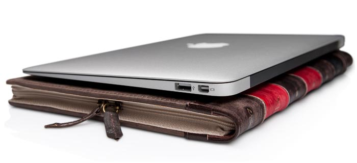 Macbook Air Old Book Cover : Twelve south bookbook macbook air case gadgetsin
