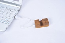 Wooden Mini Speaker Dock