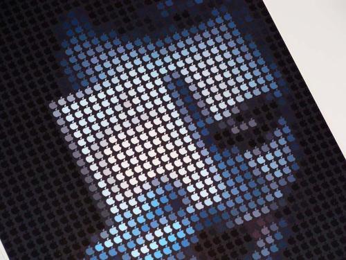Apple Pixel Mosaic Styled Joker iPad Skin