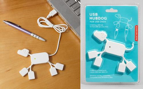 Dog Styled 4-Port USB Hub