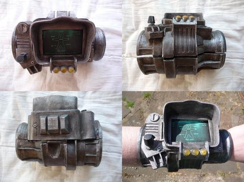 Fallout 3 PipBoy 3000 Mod Powered by iPhone