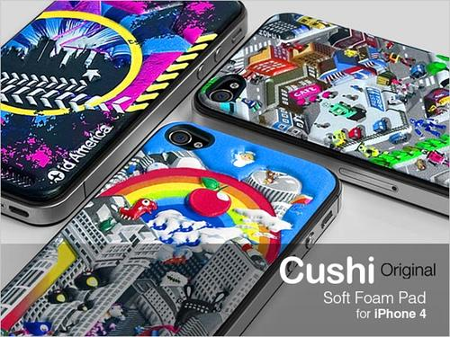 id America Cushi Soft Foam Pad for iPhone 4