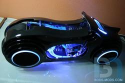 Tron Legacy Light Cycle Computer Case Mod