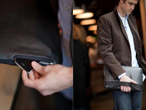 Brenthaven ProStyle Leather Sleeve for iPad 2 and Original iPad