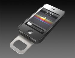 Opena iPhone 4 Case with Retractable Bottle Opener