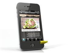 Piolo Mini iPhone 4 Stand
