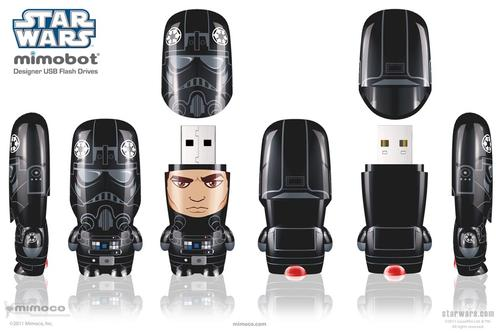 Mimoco Star Wars TIE Fighter Pilot Mimobot USB Flash Drive