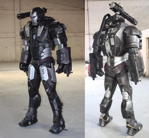Life-Size War Machine Replica