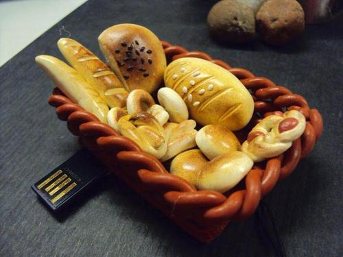 Bread Basket Shaped USB Flash Drive