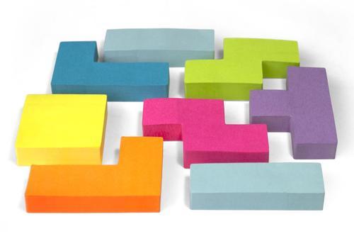 Tetris Styled Stiicky Notes