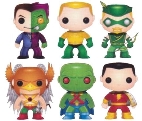 Funko DC Universe POP! Heroes Vinyl Figures Series 3