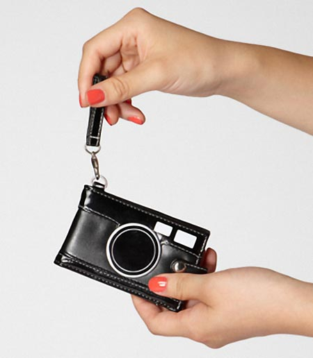 Camera Styled Card Holder