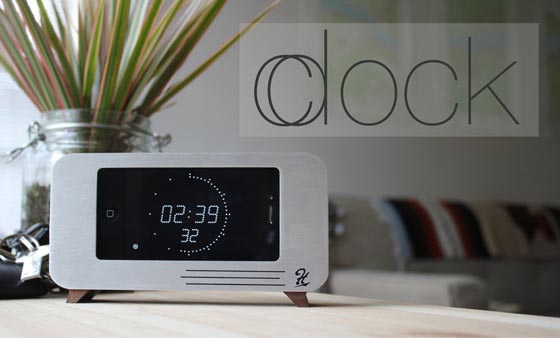 C/dock iPhone Dock Doubles as Alarm Clock
