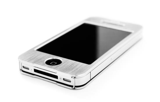 fireTi4 Titanium iPhone 4 Case