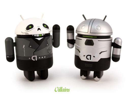 Google Android Mini Figures Summer Special Edition