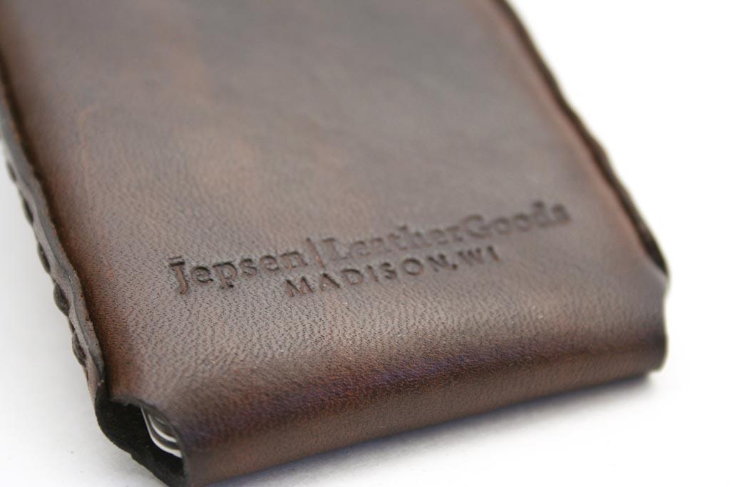 Handmade windows leather business card holder gadgetsin colourmoves