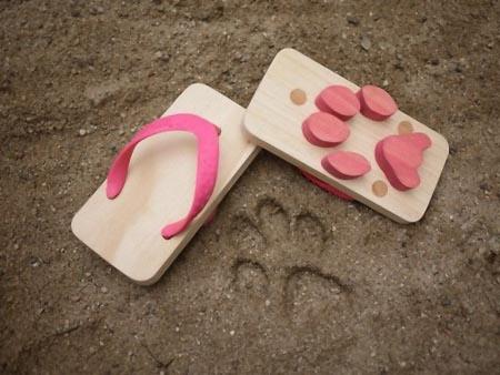Leave Monster's Footprints with Kiko+ Ashiato Sandals