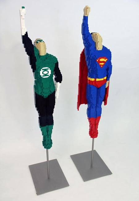 LEGO Superman and Green Lantern