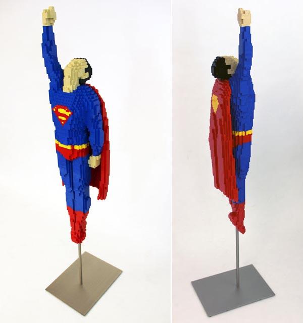 LEGO Superman and Green Lantern