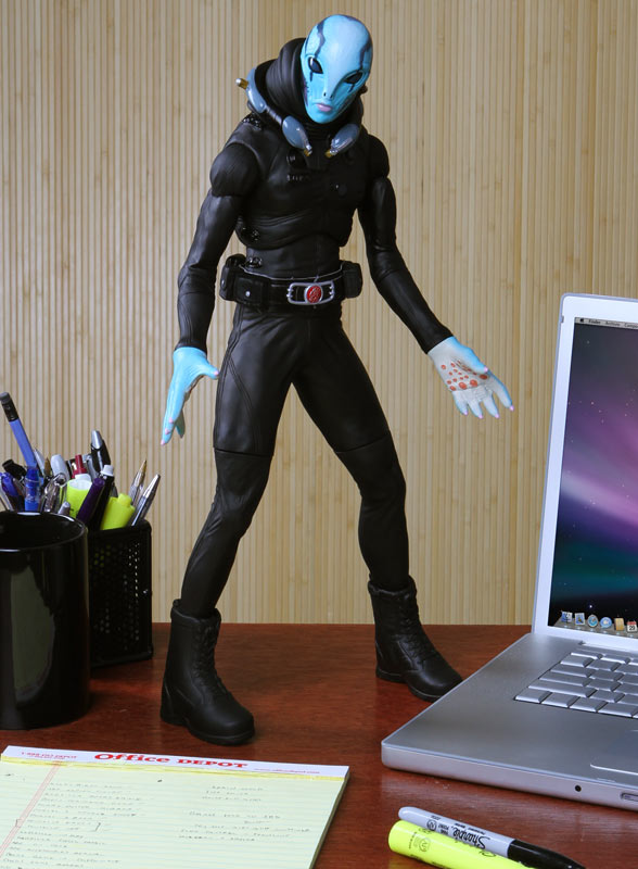 Limited Edition Abe Sapien Action Figure
