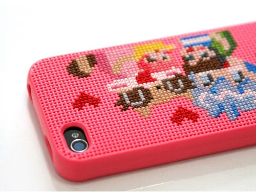 Make Your Own Cross Stitch iPhone 4 Case