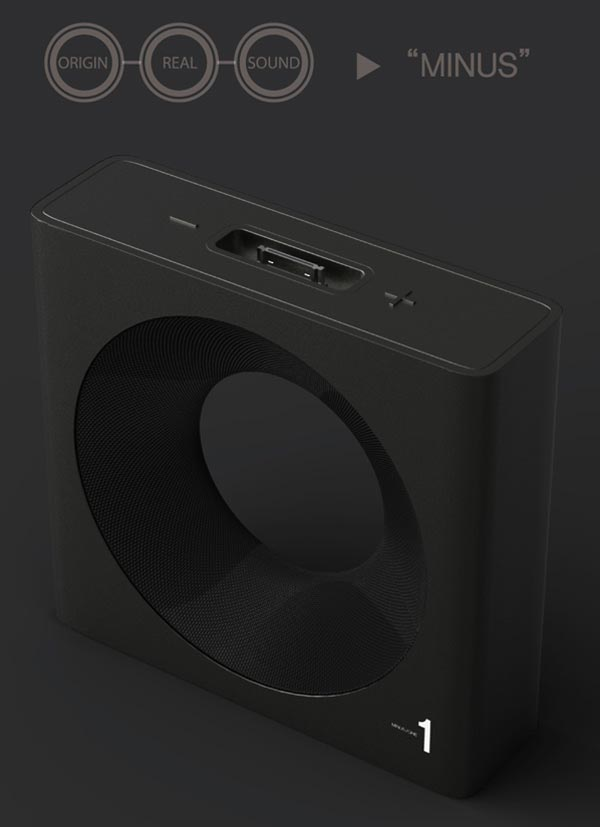 Minus One Dock Speaker