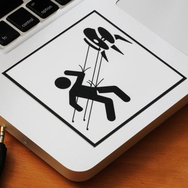 Portal 2 Test Chamber Vinyl Stickers