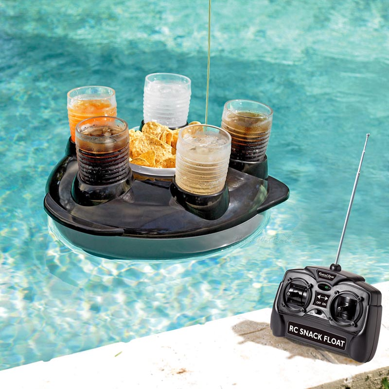 Remote Control Snack And Drink Pool Float Gadgetsin