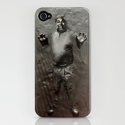 Steve Wozniak in Carbonite iPhone 4 Case