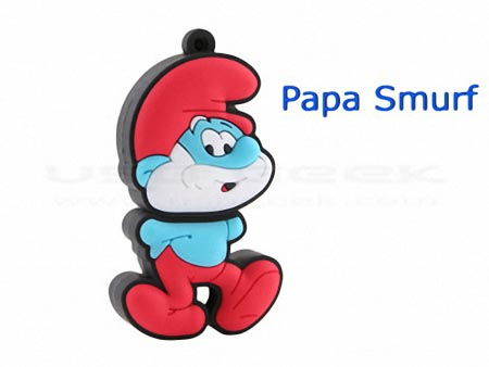 The Smurfs Themed USB Flash Drive