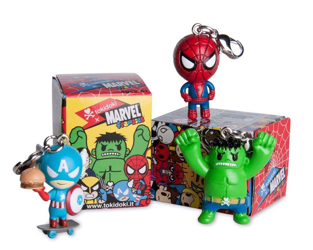 Tokidoki X Marvel Frenzies Mini Figure Charms Series