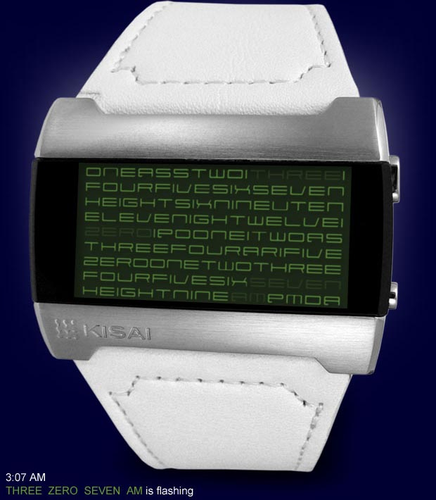Tokyoflash Kisai Kaidoku LCD Watch