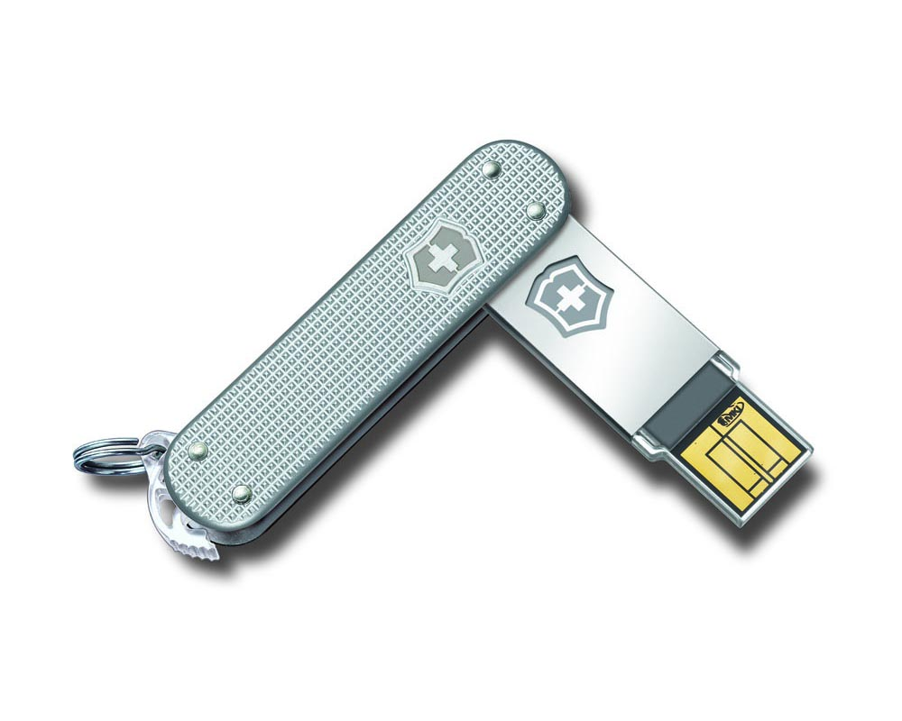 Victorinox Swiss Army Slim Usb Flash Drive Gadgetsin