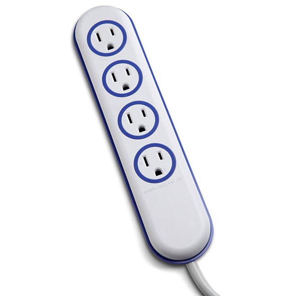 Wet Circuit Water Resistant Power Strip