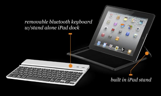 ZAGG ZAGGfolio iPad 2 Keyboard Case