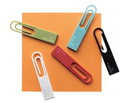 Elecom x nendo Clip Type USB Flash Drive