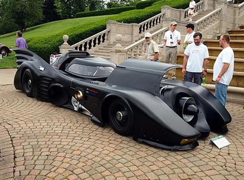 World's Only Turbine Powered Batmobile
