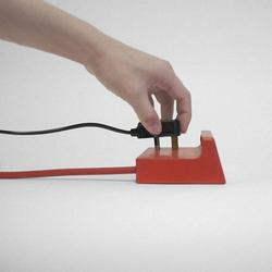 Power Strip Styled Alternative Alarm Clock