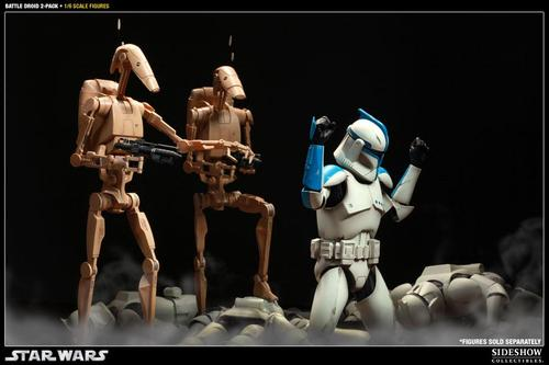 Star Wars Infantry Battle Droid Action Figure Set