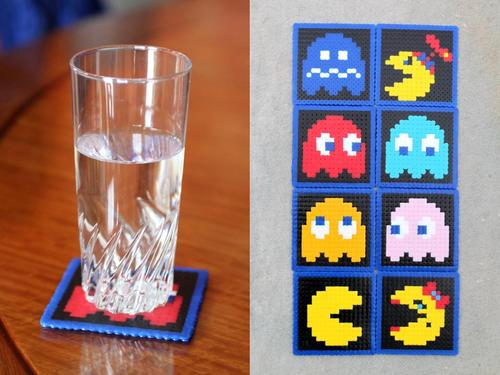 Yet Another Pacman Themed Coaster Set