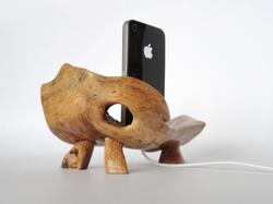 Handmade Wooden Docking Station for iPhone and iPod