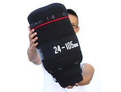 DSRL Camera Lens Styled Pillow